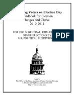 Election Judges Handbook