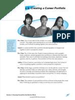 l5 - creating a career portfolio