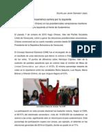 Latinoamérica camina por la izquierda
