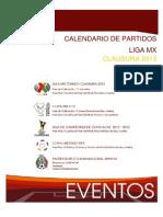 Calendario Clausura 2013 Liga MX