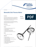Bi Metalic Dial Thermometer
