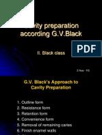 GV Black principles