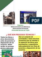 clasificacion  para bibliotecas Proc Técnicos-