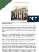 Algumas notas sobre a comarca de Guaratinguetá