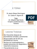 05. Trauma de Tórax. Aguirre-Zelaya 2010