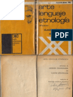 Levi Strauss Claude - Arte Lenguaje Etnologia