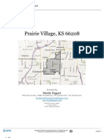 Residential Neighborhood and Real Estate Report for the Prairie Village Zip Code 66208
