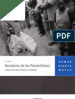 Herederos de los paramilitares. La nueva cara de la violencia en Colombia