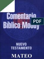 Comentario Biblico Moody - Mateo