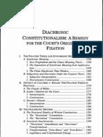 Intrepretation of the Constitution