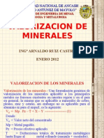 11. Valorizacion de Minerales