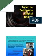 Taller de fotográfica digital basico