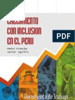 crecimiento con inclusion en Peru