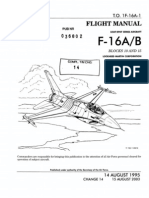 Flight Manual USAF/EPAF Series Aircraft F-16A/B Blocks 10 and 15 Lockheed Martin Corporation