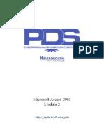 MS-ACCESS 2003 Module 2