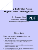 Creating Tests 2011