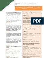 Conferência_Debate – Reflexões para uma nova organização da escola pública