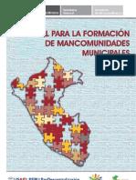 Manual Formación Mancomunidades Municipales en Perú