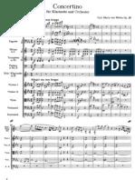 IMSLP130233-PMLP06240-Weber Clarinet Concertino Op26