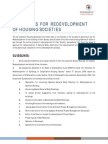 Society Redevelopment Guideline
