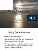 05.Strings and Sequences