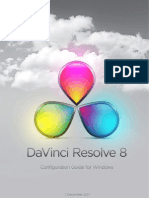 DAVINCI RESOLVE GUIDE