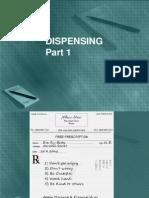 Dispensing 1