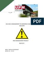 Risk Management Project Amir