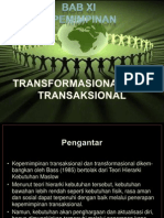 Bab XI Kep Tranformasional dan Transaksional.ppt