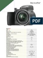 Sony Cyber Shot DSC H5