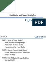 HandShake and Super SteadyShot