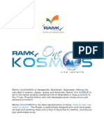 Ramky One Kosmos-Latest