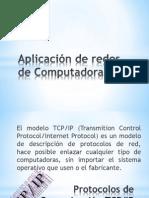 Aplicación de redes de Computadora