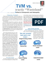 TVM vs a Chiropractic Wasteland Magazine Copy