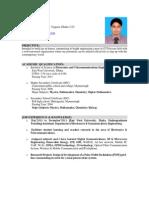 Resume of Zahirul Islam