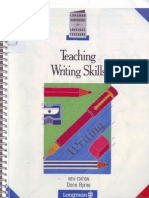 Teaching writing skills