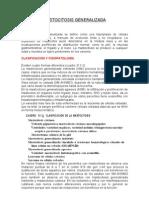 Mastocitosis Generalizada