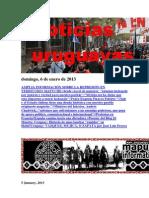 Noticias Uruguayas domingo 6 de enero del 2013