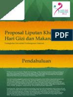 Proposal Hari Gizi