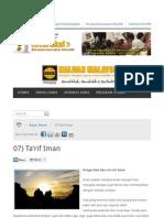 Tarif Iman