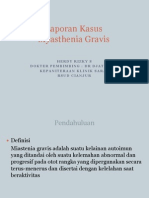 ppt case report miastenia gravis