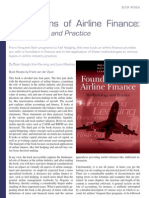 50 Bookreview Foundations of Airline Finance Vdzwan