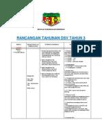Rancangan Tahunan Dsv t3 2013 Original