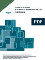 Juklak Program Penjaminan Mutu Pendidikan 2012