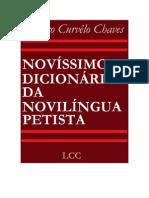 Dicionário da Novilíngua - Lázaro Chaves