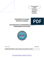 DEPARTMENT OF DEFENSE INTERFACE STANDARD ELECTROMAGNETIC ENVIRONMENTAL EFFECTS REQUIREMENTS FOR SYSTEMS