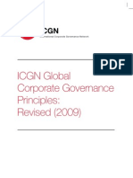 Short Version - Icgn Global Corporate Governance Principles- Revised 2009