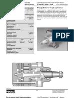Parker TF Series Low Speed High Torque Hydraulic Motors