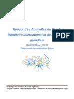 Rencontres annuelles du FMI et de la Banque mondiale (octobre 2012)
