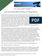 Michael Parenti-The Rational Destruction Оf Yugoslavia
